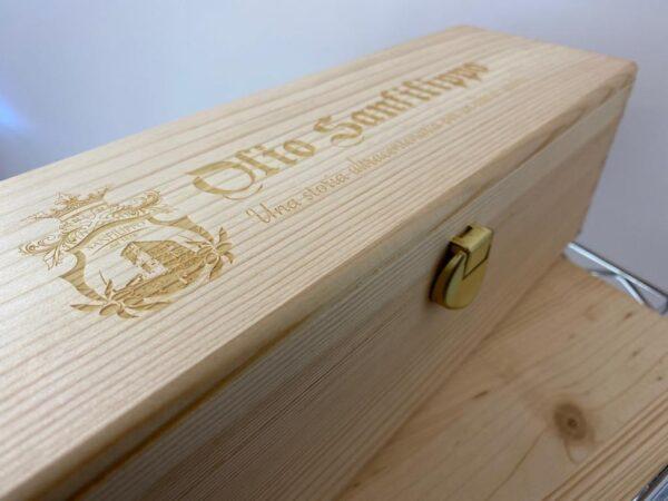 Cassetta di legno personalizzata