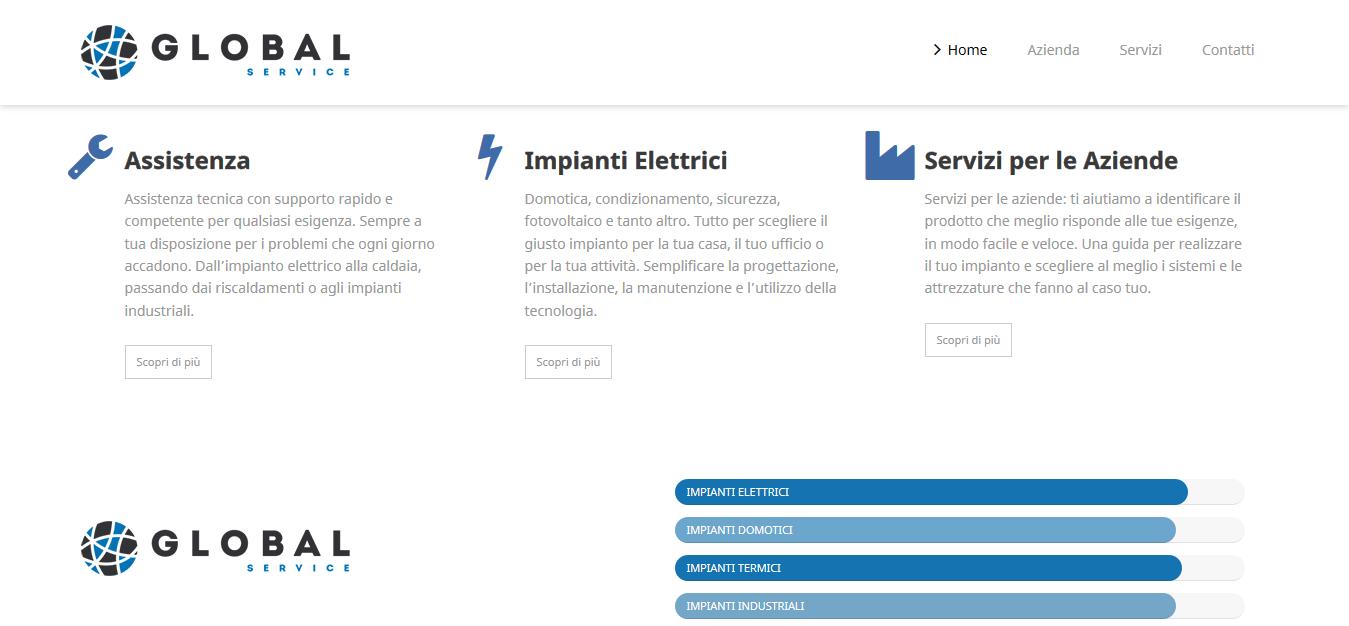 global service homepage