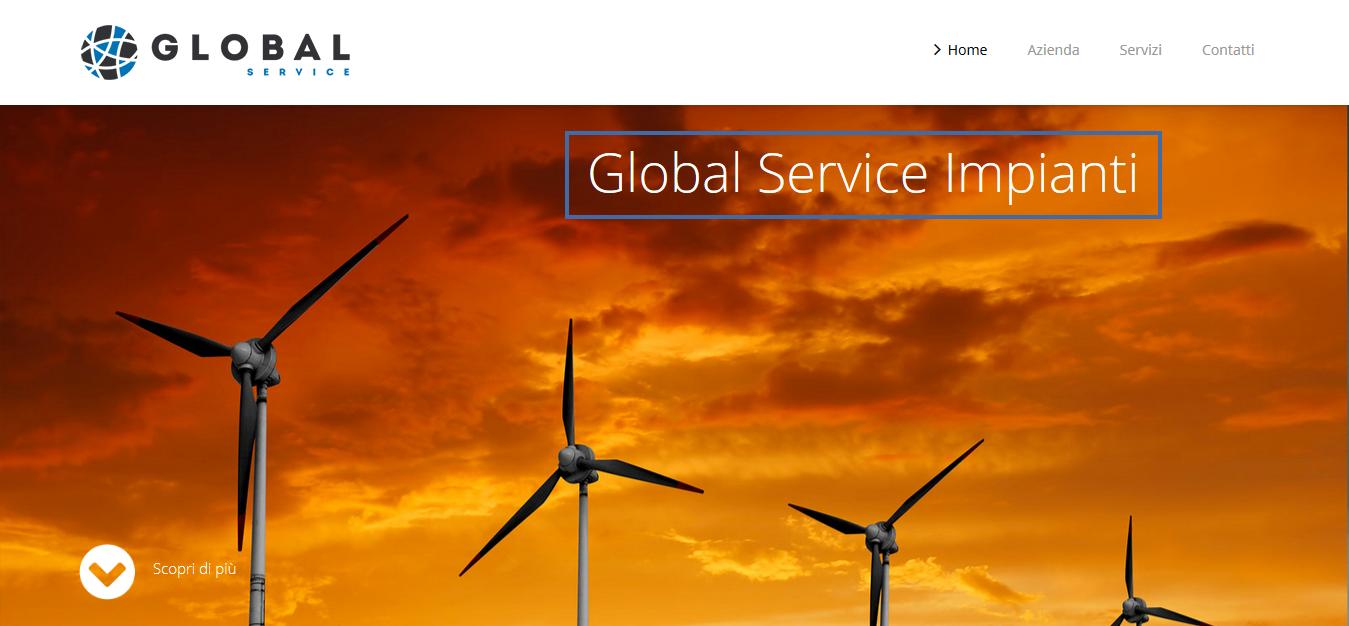 Global service immagine homepage