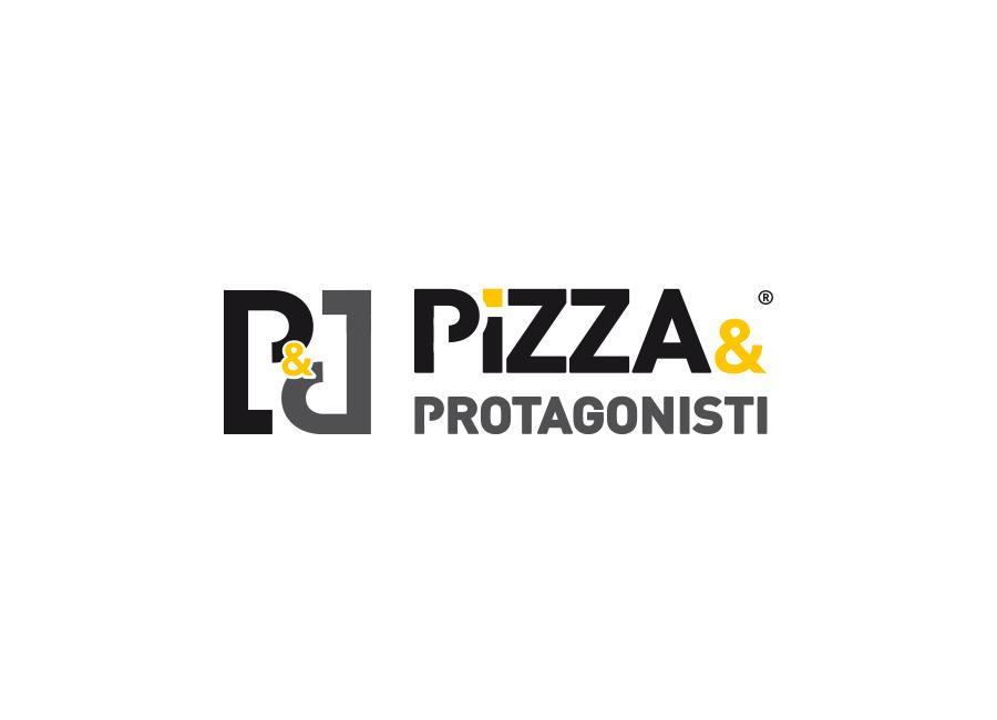 pizza e protagonisti logo