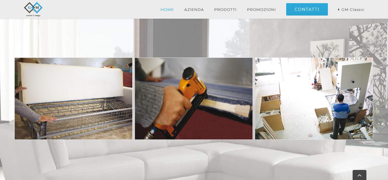 gm divani homepage