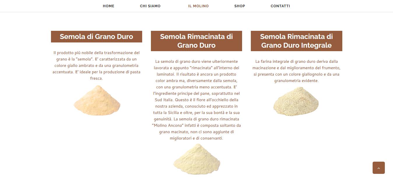descrizione farine