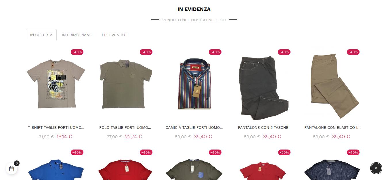 prodotti market moda