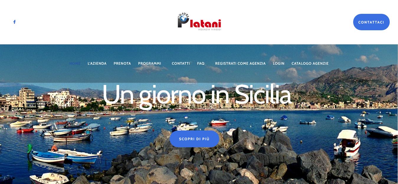 """platani travel home """"un giorno in sicilia"""""""