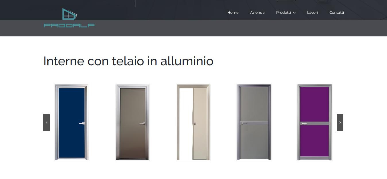 prodalf porte in alluminio
