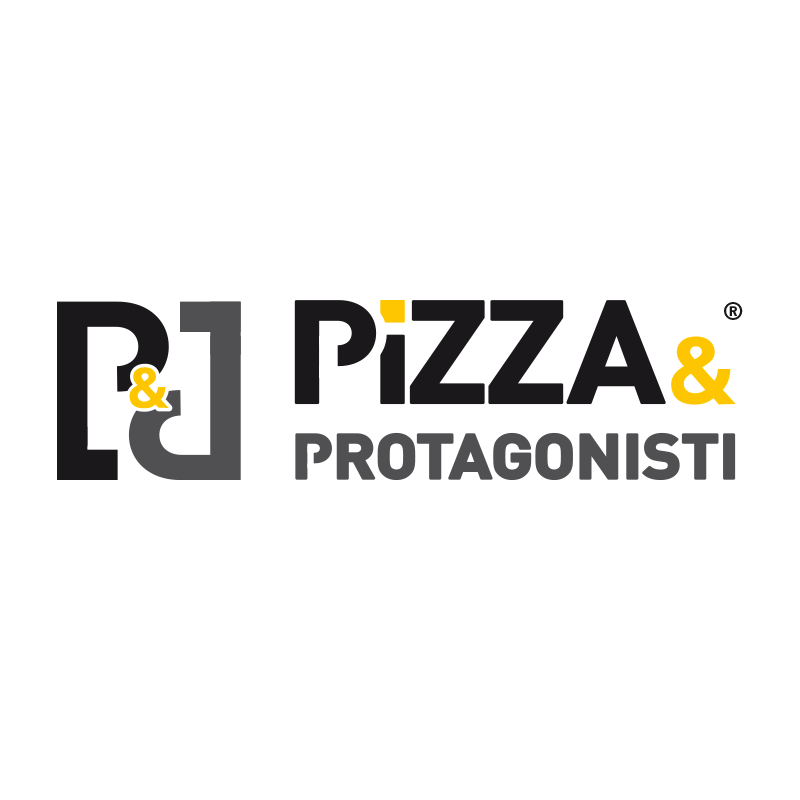 Logo pizza e protagonisti