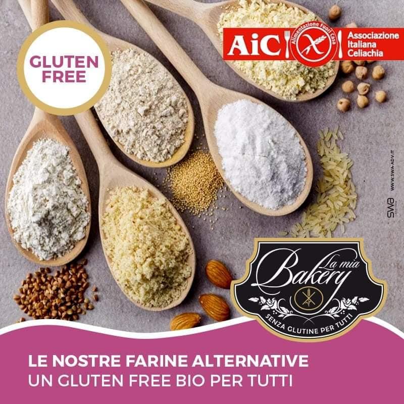 Farine alternative bio e gluten free