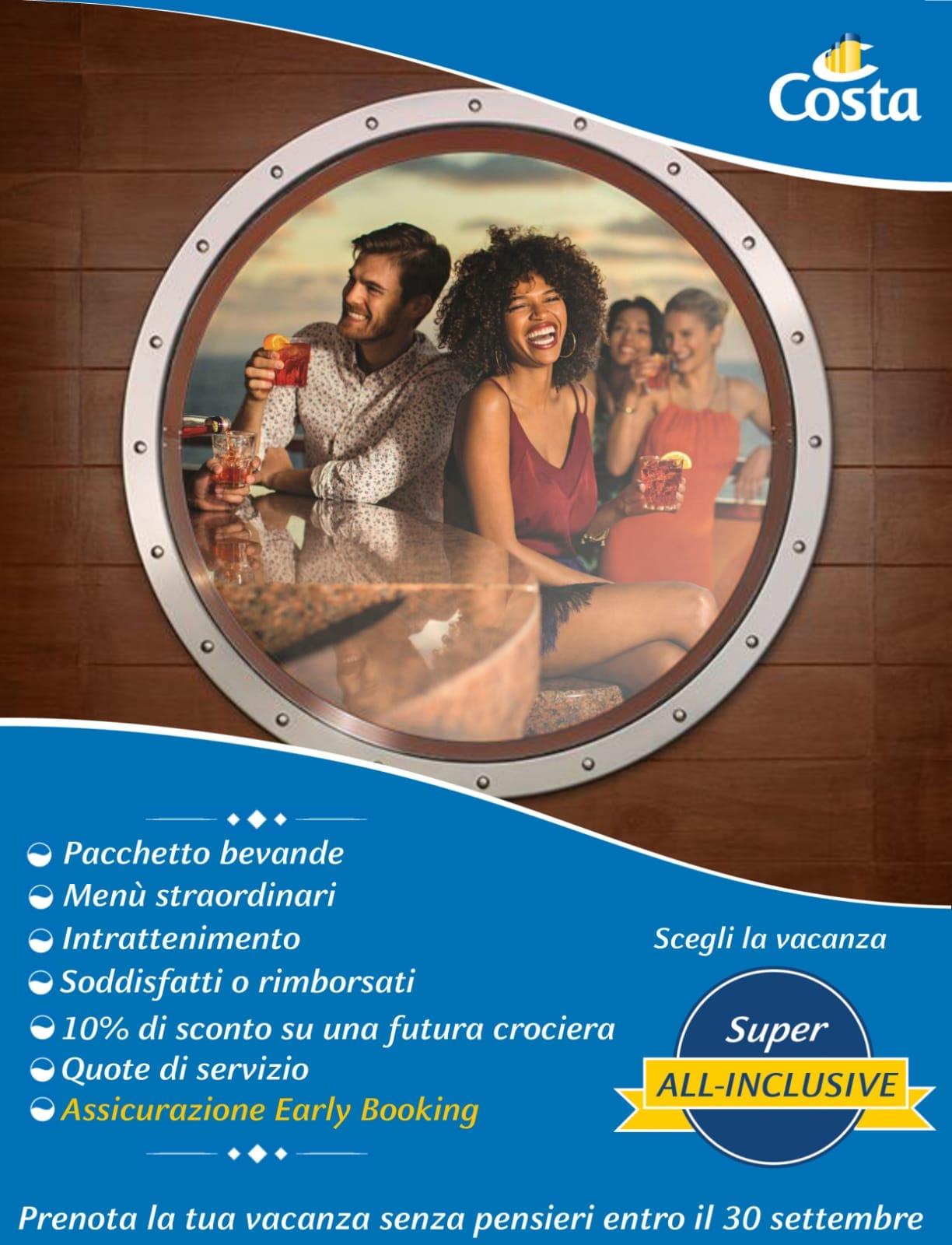 platani travel pacchetto Super All-Inclusive