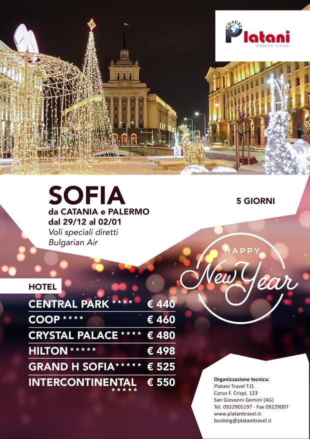 Itinerari viaggio Sofia - Platani Travel