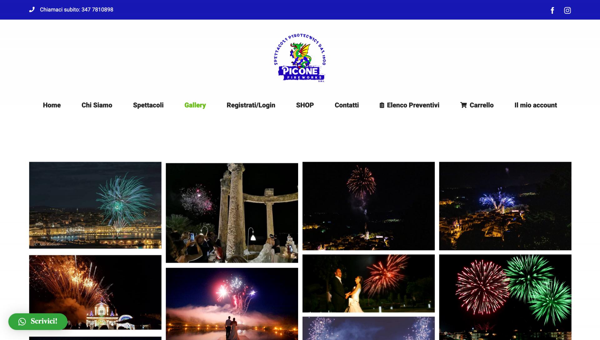 Galleria foto fuochi d'artificio